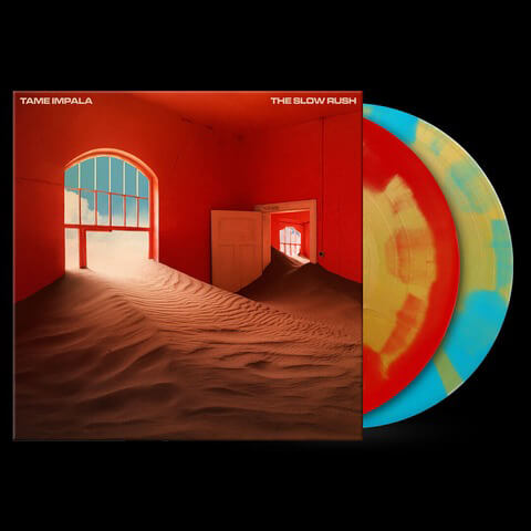 √The Slow Rush (Ltd. Coloured LP) von Tame Impala - 2LP jetzt im uDiscover Shop