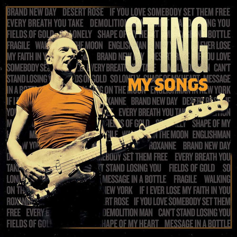 My Songs by Sting - CD - shop now at uDiscover store