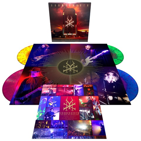 √Soundgarden - Live From The Artists Den (Ltd. Coloured 4LP) von Soundgarden -  jetzt im uDiscover Shop