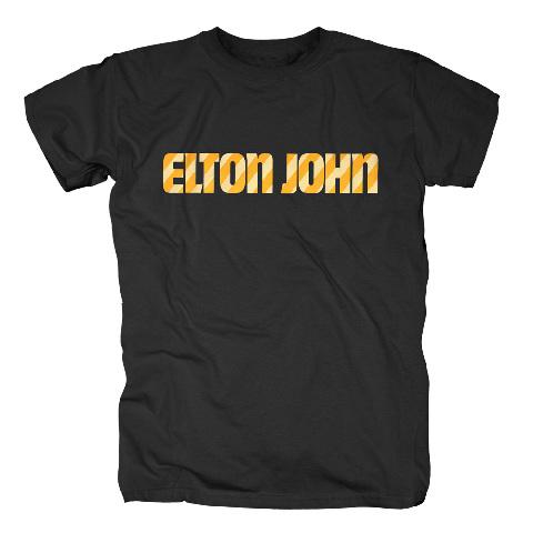 Stripe Logo von Elton John - T-Shirt jetzt im uDiscover Shop