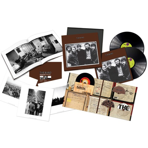The Band 50th Anniversary Edition (Ltd. Super Deluxe Box) von The Band - Boxset jetzt im uDiscover Shop
