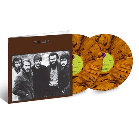 The Band 50th Anniversary (Ltd. Colour LP) von The Band - 2LP jetzt im uDiscover Shop