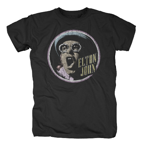 √Vintage Circle von Elton John - T-Shirt jetzt im uDiscover Shop