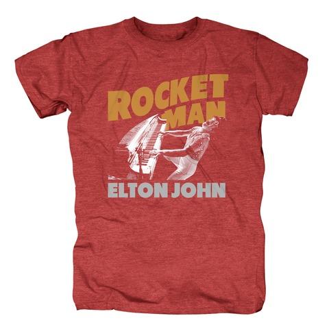 Rocketman Piano von Elton John - T-Shirt jetzt im uDiscover Shop