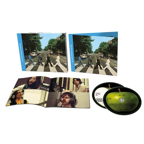 Abbey Road Anniversary Edition (Ltd. Deluxe 2CD) von The Beatles - 2CD jetzt im uDiscover Shop