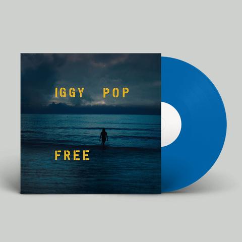 Free (Ltd. Ocean Blue Deluxe Vinyl) von Iggy Pop - LP jetzt im uDiscover Shop