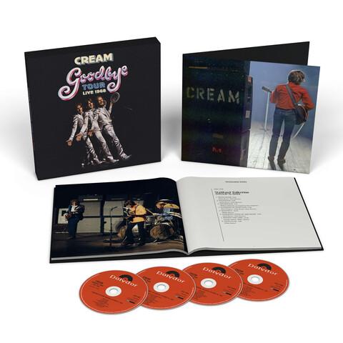 √Goodbye Tour - Live 1968 (Ltd. 4CD Boxset) von Cream - Box set jetzt im uDiscover Shop