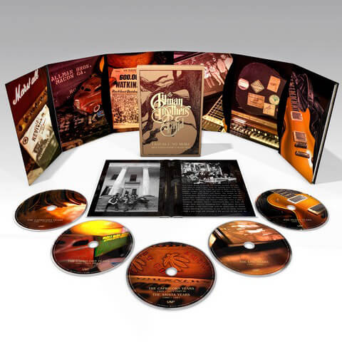 √Trouble No More (Ltd. 5CD Boxset) von The Allman Brothers Band - Box set jetzt im uDiscover Shop