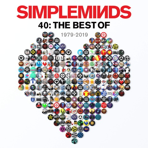 40: The Besf Of 1979-2019 (2LP) von Simple Minds - 2LP jetzt im uDiscover Shop