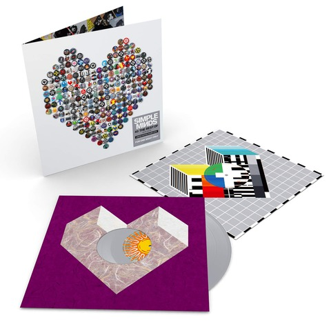 √40: The Best of 1979-2019 (Ltd. Coloured 2LP) von Simple Minds - 2LP jetzt im uDiscover Shop
