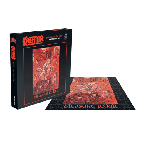 Pleasure To Kill by Kreator - puzzle - shop now at uDiscover store