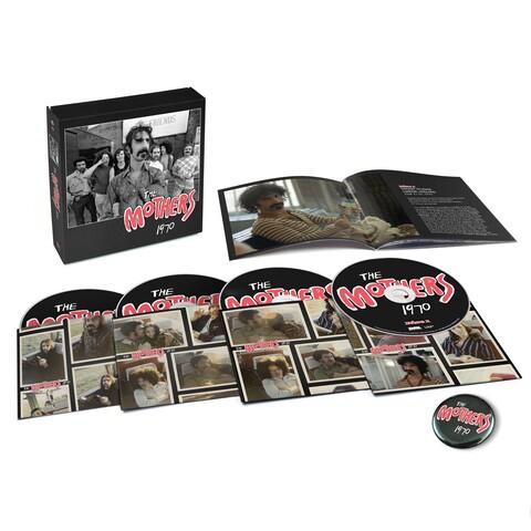 √The Mothers 1970 (Ltd. 4CD Boxset) von Frank Zappa - Box set jetzt im uDiscover Shop
