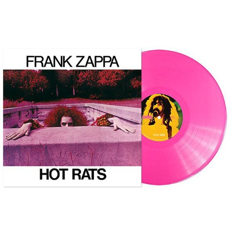 The Hot Rats Sessions (Pink Vinyl) von Frank Zappa - LP jetzt im uDiscover Shop