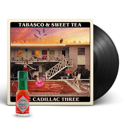 Tabasco & Sweet Tea (Ldt. Exclusive Vinyl + Tabasco Sauce) von The Cadillac Three - LP jetzt im uDiscover Shop