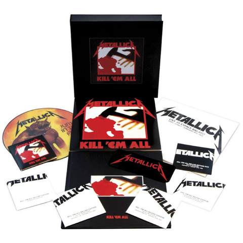 √Kill 'Em All (Ltd.Remastered Deluxe Boxset) von Metallica - Box set jetzt im uDiscover Shop