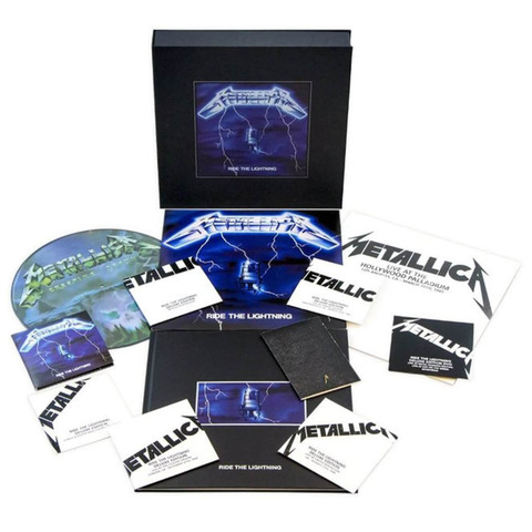 √Ride The Lightning (ltd. Remastered Deluxe Boxset) von Metallica - Box set jetzt im uDiscover Shop