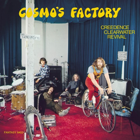 Cosmo's Factory (Half Speed Master 2LP) von Creedence Clearwater Revival - LP jetzt im uDiscover Shop