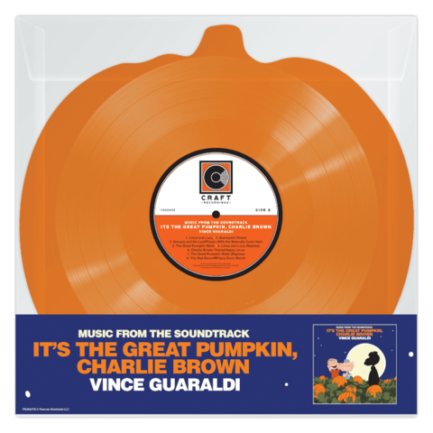 It's The Great Pumpkin, Charlie Brown (Orange Shape LP) by Vince Guaraldi - Shaped LP - shop now at uDiscover store