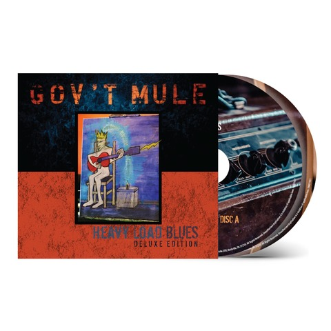 Heavy Load Blues (2CD Deluxe) by Gov't Mule - 2CD - shop now at uDiscover store
