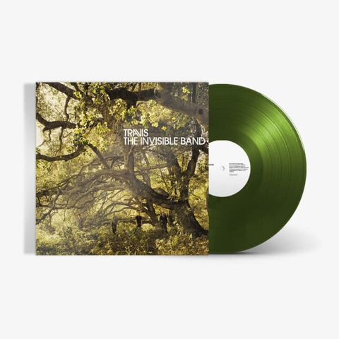 The Invisible Band by Travis - Forest Green Vinyl LP - shop now at uDiscover store
