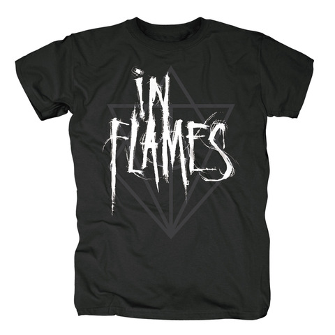 Scratch Logo Jesterhead by In Flames - t-shirt - shop now at uDiscover store