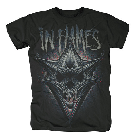 Hooked Jesterhead by In Flames - t-shirt - shop now at uDiscover store