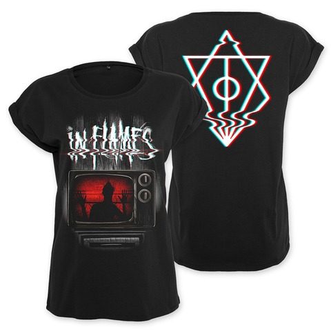 Kill Your TV by In Flames - Girlie Shirt - shop now at uDiscover store
