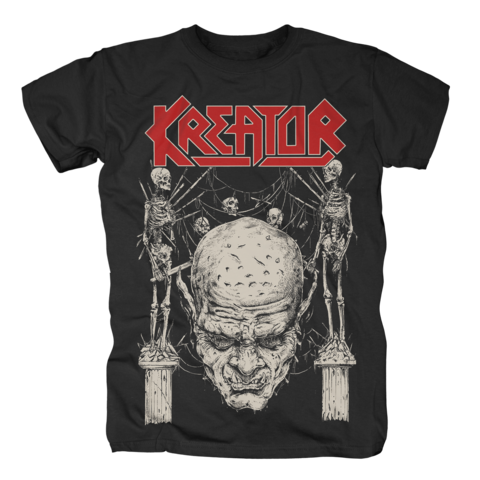 Skull N Skeletons by Kreator - t-shirt - shop now at uDiscover store