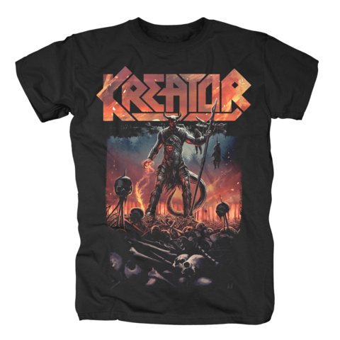 Warrior by Kreator - t-shirt - shop now at uDiscover store