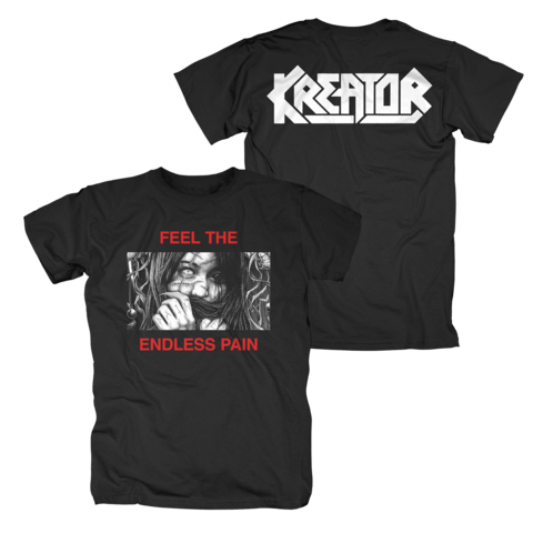 Feel The Endless Pain by Kreator - t-shirt - shop now at uDiscover store