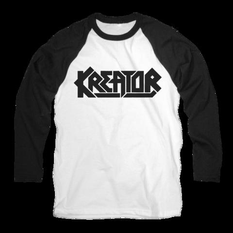 Kreator Logo by Kreator - Raglan long-sleeve - shop now at uDiscover store