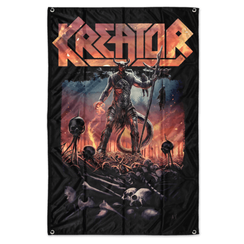 Warrior by Kreator - Poster Flag - shop now at uDiscover store