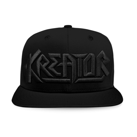 Black on Black Logo by Kreator - Cap - shop now at uDiscover store