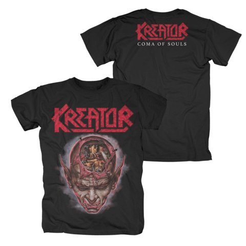 Coma Of Souls by Kreator - t-shirt - shop now at uDiscover store