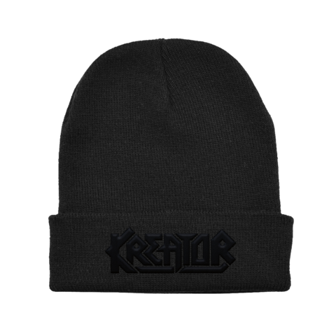 Black on Black Logo by Kreator - Beanie - shop now at uDiscover store