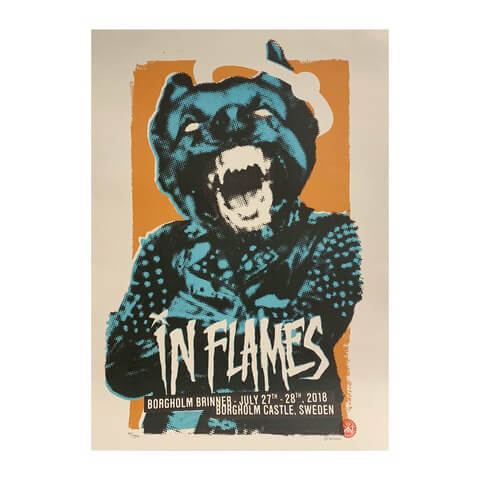 Borgholm Dog by In Flames - Poster - shop now at uDiscover store