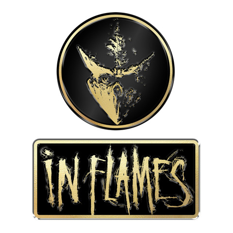 Logo and Mask by In Flames -  - shop now at uDiscover store