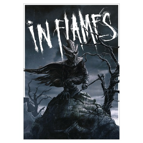 The Mask by In Flames - Poster Din A1 - shop now at uDiscover store