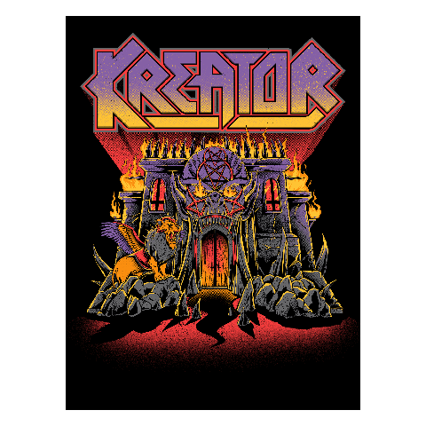 Castle by Kreator - Print - shop now at uDiscover store