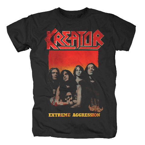 Extreme Aggression by Kreator - t-shirt - shop now at uDiscover store