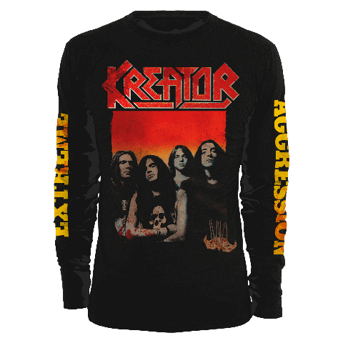 Extreme Aggression by Kreator - Longsleeve - shop now at uDiscover store
