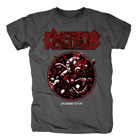 Pleasure To Kill Circle by Kreator - t-shirt - shop now at uDiscover store