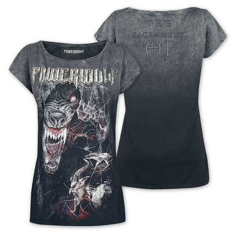 TSOS - Wolf by Powerwolf - Girlie Shirt - shop now at uDiscover store