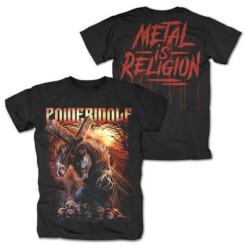 Via Dolorosa by Powerwolf - t-shirt - shop now at uDiscover store