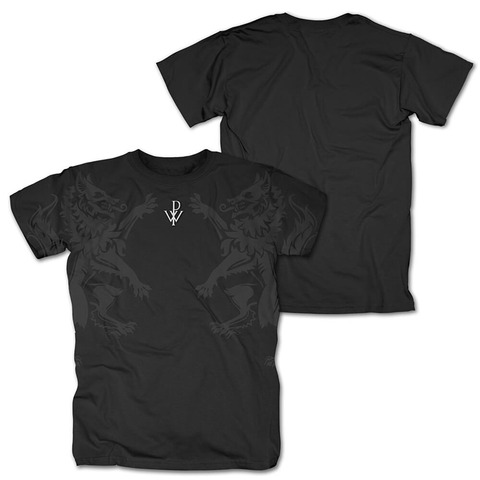 Wolves and Logo by Powerwolf - t-shirt - shop now at uDiscover store