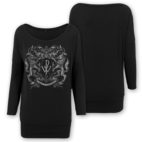 Crest by Powerwolf - Girlie Longsleeve Loose Fit - shop now at uDiscover store