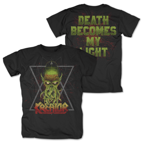 Death Becomes My Light by Kreator - t-shirt - shop now at uDiscover store