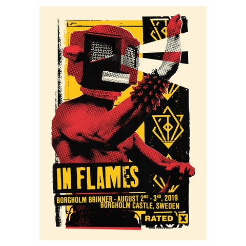 Eye Beam Rated X by In Flames - poster - shop now at uDiscover store
