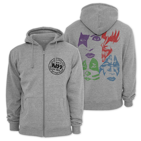 The Last Tour Ever by Kiss - Hooded jacket - shop now at uDiscover store