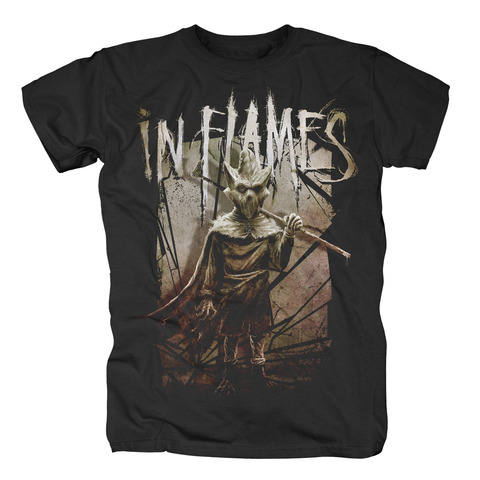 Shattered Wall by In Flames - t-shirt - shop now at uDiscover store